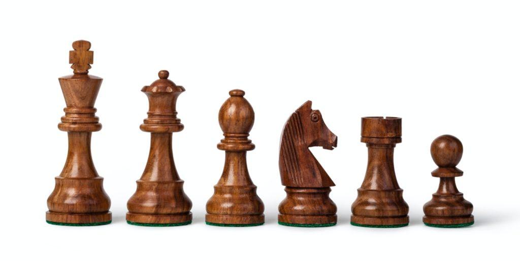 Holz-Schachfiguren