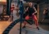 Battle ropes sind ideal für Fettverbrennung