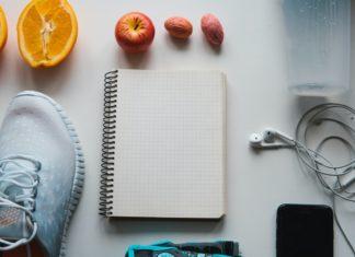Workout und Fitness, Planungskontrolle Ernährungskonzept.
